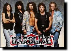 Hardline is an American hard rock band. Originally formed in 1991 by brothers Johnny Gioeli and Joey Gioeli, the band consisted of five members, Johnny Gioeli