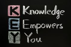 KEY acronym - Knowledge empowers you on a blackboard with words written in chalk. Free art print of KEY acronym - Knowledge empowers you on a blackboard with words written in chalk. Spiritual Quotes, Wisdom Quotes, Bible Quotes, Words Quotes, Positive Quotes, Motivational Quotes, Inspirational Quotes, Quotable Quotes, Qoutes