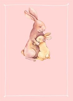 Funny say hi cards personalize and send custom funny greeting no bunny like mom funny easter card an illustration of a mom bunny hugging her baby bunny bunny rabbit mom mother mothers day love hug embrace squeeze m4hsunfo