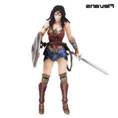 41.15$  Watch here - http://aliqy4.worldwells.pw/go.php?t=32742682086 - Play Arts KAI Batman v Superman Dawn of Justice No.4 Wonder Woman PVC Action Figure Collectible Model Toy 26cm