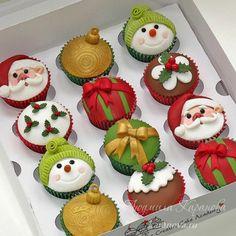 Imagen de cupcake, christmas, and food