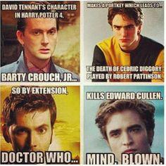 The 10th doctor kill Edward Cullen