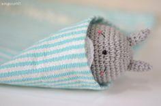 Sleeping Totoro Amigurumi pattern