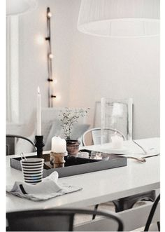 cosy table decoration #candlelights