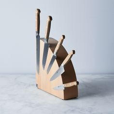 33 Home Goods That Are Stylish And Also Very Practical Churros, Magnetic Knife Blocks, Scandinavian Design Centre, Storing Spices, Side Table Decor, Wood Knife, Food 52, Magnets, Home Goods