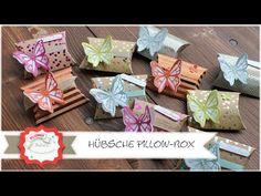 Pillow Box - Gastgeschenk - Verpackung - Goodie mit Produkten von Stampin´Up! Step by Step Anleitung - YouTube