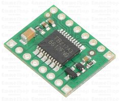 TB6612FNG Dual Motor Driver Carrier This tiny board is an easy way to use Toshiba's TB6612FNG dual motor driver, which can independently control two bidirectional DC motors or one bipolar stepper motor.