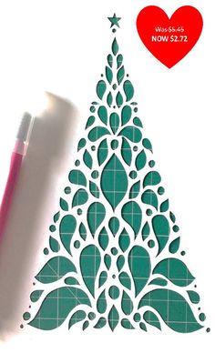 Gagnez vos cadeaux de Noël spécial cette année en coupant une main spécialement conçue et dessiné larbre de Noël. Essayez votre main à couper cet arbre de Noël très sinueuse et amusez-vous !  Les courbes peuvent être difficile parfois, il suffit donc soyez prudent:)  Le modèle est défini sur une feuille A4 mais mesure environ 22 cm x 18 cm lorsque vous avez terminé.  Veuillez noter : tous les modèles sont envoyés uniquement par e-mail.  Messagerie: Sil vous plaît faites le moi savoir quel…