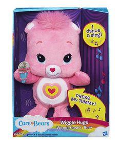 Look at this #zulilyfind! Care Bears Wiggle Hugs Wonderheart Bear by Care Bears #zulilyfinds