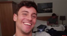 """Tom Daley & Dustin Lance Black — tomandlance: Lance """"I don't want to be in this..."""