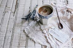 lavanda lavander lavender lavendel Puro Organic, Fair Trade Coffee by Beth Kirby I Love Coffee, Coffee Break, Coffee Mornings, Coffee Club, Coffee Photography, Food Photography, Local Milk, Fair Trade Coffee, Brown Butter