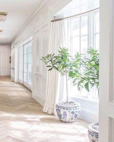 Custom Home Builders, Custom Homes, Rubio Monocoat, Herringbone Wood Floor, Citrus Trees, Natural Wood Finish, Chinoiserie Chic, Furniture Decor, Interior And Exterior