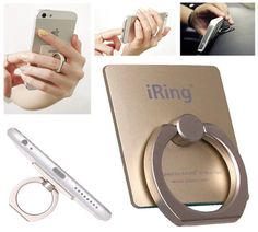 Universal Smart iRing Holder for Smartphones - #Gadgets #Fashion #Ring | CoolShitiBuy.com