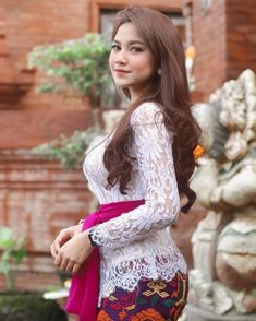 I 💟 Balinese Girls Indonesian Women, Indonesian Wedding, Kebaya Bali, Kebaya Dress, Beautiful Hijab, Beautiful Asian Women, Beautiful Body, Bali Girls, Hijab Fashionista