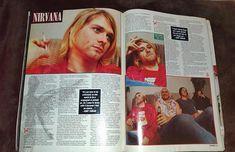 Nirvana Rare 1993 Magazine One of the last Kurt Cobain