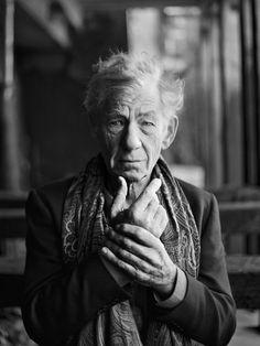 Sir Ian McKellen | Photographer : Pip