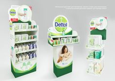 POSm for Dettol by Anastasia Shikina at Coroflot.com