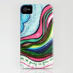 cut here iPhone Case by Mariana Beldi - $35.00
