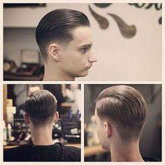 Trending Hairstyles For Men, Popular Mens Hairstyles, Mens Hairstyles With Beard, Slick Hairstyles, Dance Hairstyles, Great Hairstyles, Hair And Beard Styles, Haircuts For Men, Short Hair Styles
