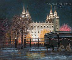 """Temple Square"" by Jon McNaughton (Love his paintings!)"