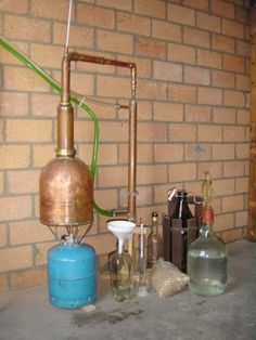 make your own still. That propane will look real good next to my meth lab??? OMG