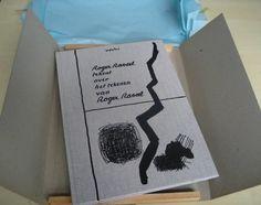 Nu in de #Catawiki veilingen: Roger Raveel tekent over het tekenen