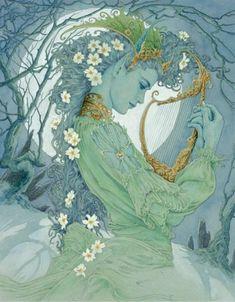 Ed Org - Art nouveau féerique • Artistes • La Lune Mauve