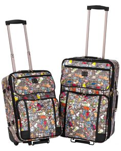 Sydney Love 2pc Carryon & Checked Bag Luggage Set is on Rue. Shop it now.