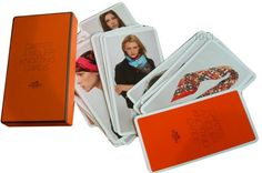 Scarf Tying Cards / Cartes a Nouer - Scarf Tying Cards / Cartes a Nouer