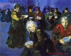 'The Bread Line', George Luks