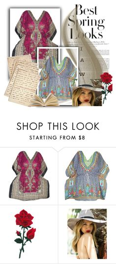 WOMEN FASHION SHORT CAFTAN TOP by lavanyas-trendzs on Polyvore featuring H&M and Cultura  http://www.polyvore.com/cgi/set?id=208400223  #kaftan #caftan #dress #tops #tunic #women #indiatrendzs #fashion