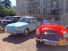 Les voitures de #Tintin à #Cheverny