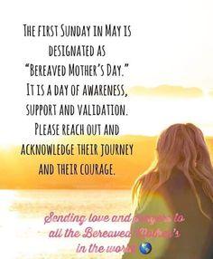 First Sunday, Bereavement, Condolences