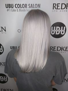 #whitehairtampa #blondehaircolortampa #southtampacolorsalon 813.801.9700