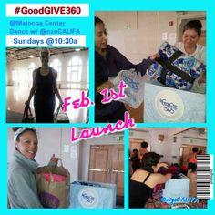 #GoodGIVE360 launch w/ @nzoCALIFA #Oakland <3
