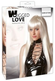 Wigged Love Christina - Platinum Blond Wig 07760170000 via Love Temptation. Click on the image to see more!