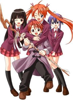 #NEGIMA Wizards, magic, perverted little child - it had it all and it was very entertaining funny!