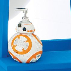 Star Wars™ BB-8™ Dispenser - A liquid soap dispenser shaped after BB-8 from Star Wars, buy Avon Living products online at barbieb.avonrepresentative.com.