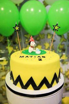 Tarta de Snoopy