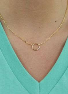All Initiatives - Golden Circle Necklace - Necklace