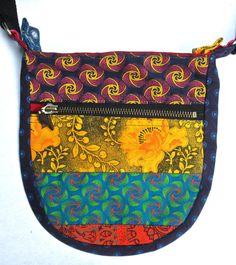 Da Gama (three cats) shweshwe sling bag. Available @ Mrs. Pinkerton's, Mushroom Farm, Hillcrest KZN. R200 Fabric Wallet, Sling Bags, Three Cats, Cat Fabric, Costume Design, My Bags, Mushroom, Wallets, Wisdom