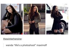 I love Wanda. I feel so bad for her too though since she lost Pietro.