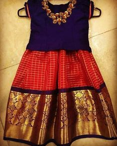 Advita traditional Indian Dresses For Kids, Kids Indian Wear, Kids Ethnic Wear, Dresses Kids Girl, Kids Outfits, Kids Lehanga Design, Kids Frocks Design, Baby Frocks Designs, Baby Girl Frocks