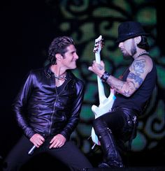 Perry Farrell and Dave Navarro of Jane's Addiction.