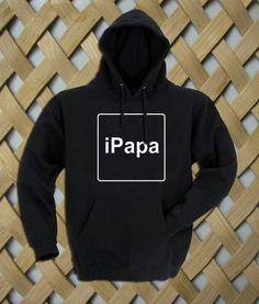 iPapa Hoodie  #hoodie #clothing #unisex adult clothing #hoodies #graphic shirt #fashion #funny shirt