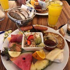 [I ate] Paludan brunch platter in Copenhagen