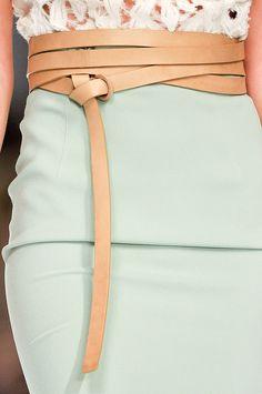 Ermanno Scervino at Milan Fashion Week Spring 2012 - Details Runway Photos