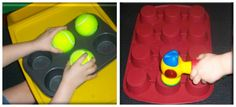 Ideas of activities and materials to develop pre-braille skills in young children who are blind or visually impaired
