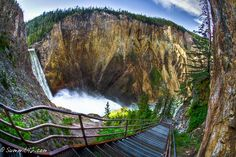 Uncle Tom's Trail, Yellowstone NP
