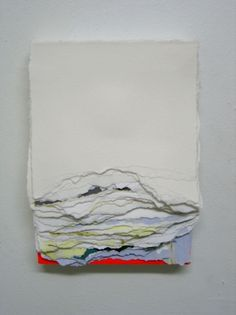 """Andrea Myers """"Paper Pieces""""series"""